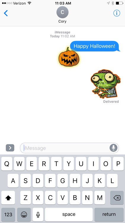 Spooky Sticker Pack screenshot-3