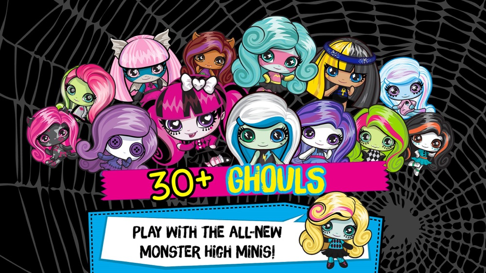 Monster High™ Minis Mania Cheat Codes