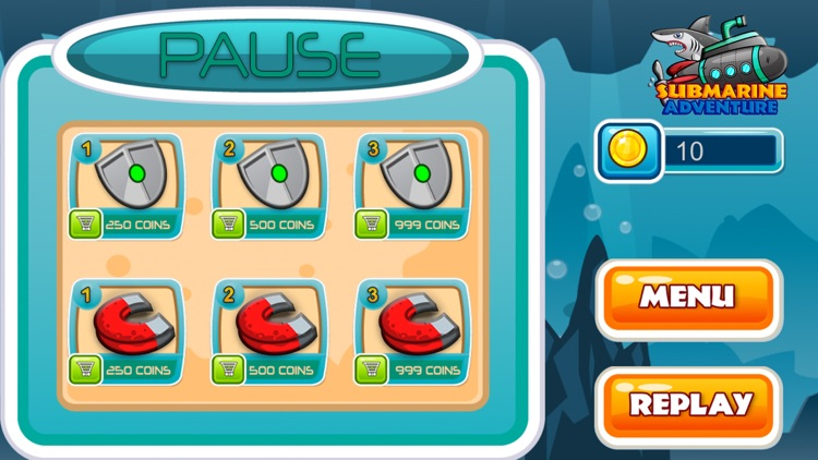 Submarine Adventure: Under The Water Ocean Game screenshot-4
