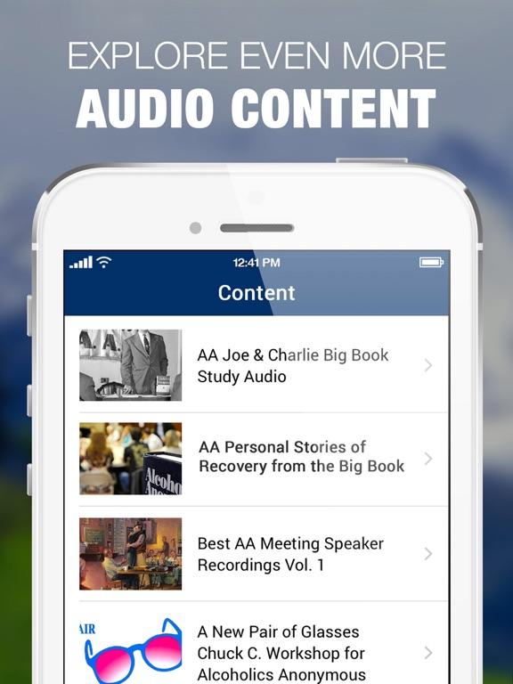 AA Big Book Audio from Alcoholics Anonymous Sober-ipad-3