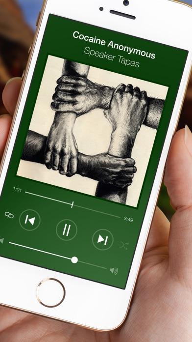 Cocaine Anonymous CA Speakers Screenshot on iOS