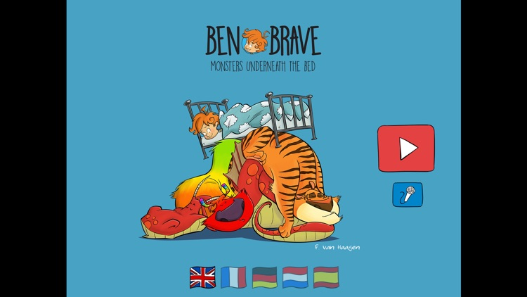 Ben Brave - Monsters underneath the bed
