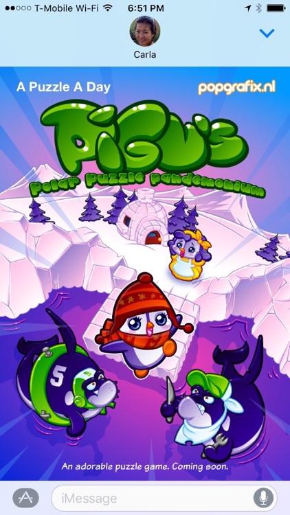 Pigu Animated Stickers screenshot-3