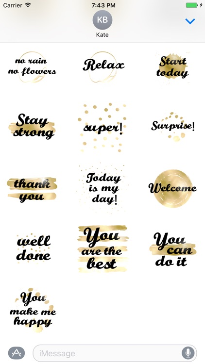 Think Positive animated Stickers screenshot-4