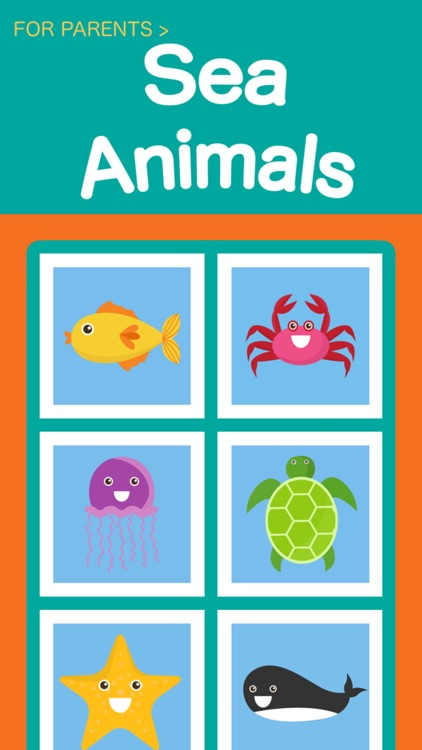 Kids Sea Animals Premium - Toddlers learn first words by Ameer Moosa