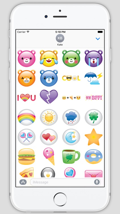 Care Bears Belly Badges and Symbols