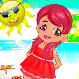 Baby Girl Summer Party Fun - Kids Party Game