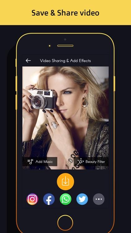 Video editor-slow motion,slideshow,add music video
