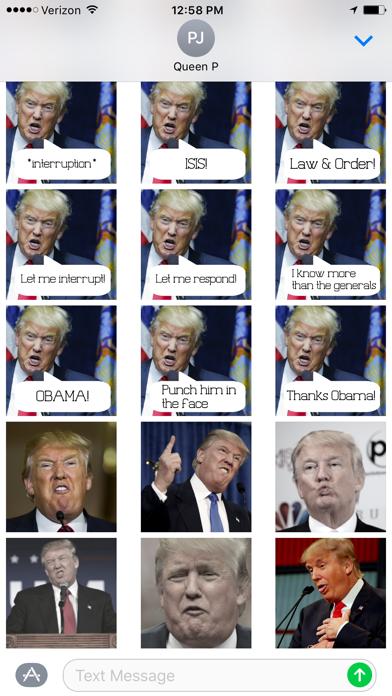 Trump-isms Screenshot