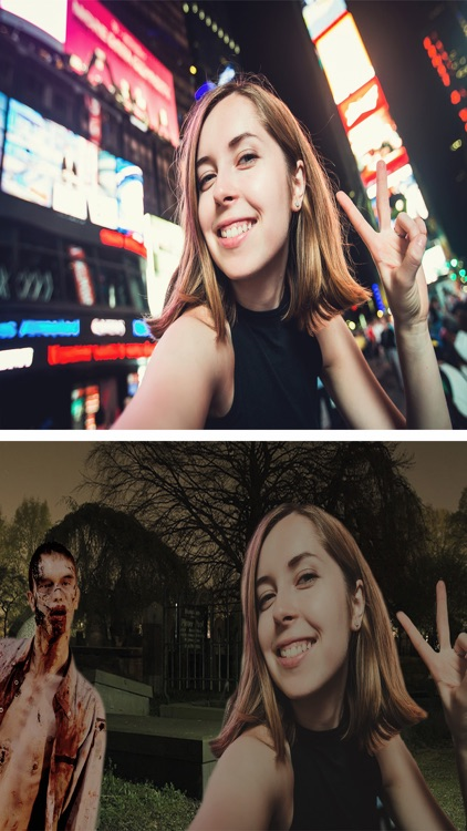 Cut paste Halloween photos Stickers photo editor