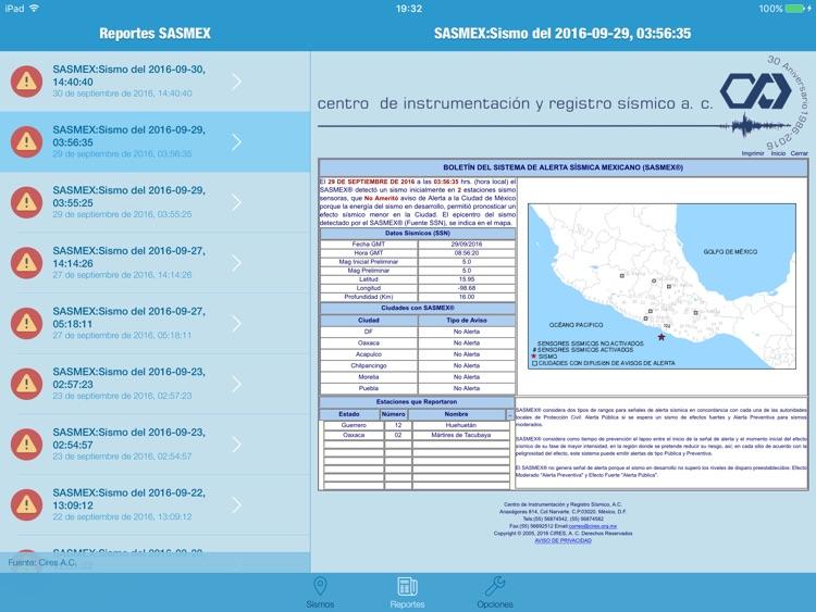 Alerta Sísmica DF HD screenshot-3