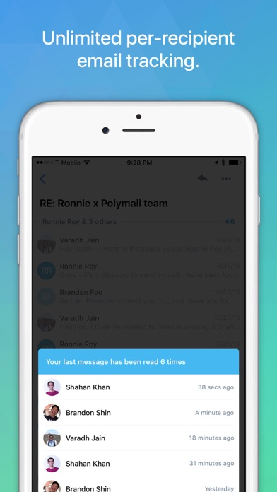 Polymail Screenshot