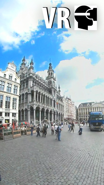 VR Brussels City Walk - Virtual Reality 360