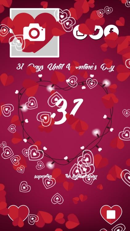 Countdown to Valentine's Day screenshot-3