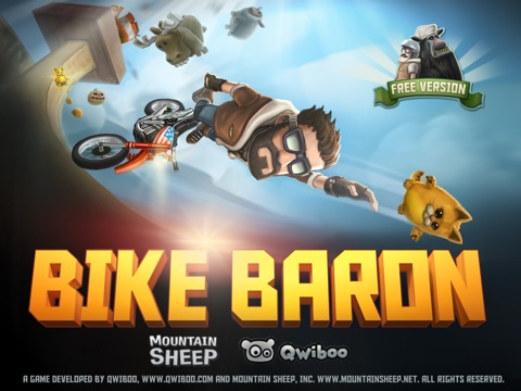 Bike Baron Free на iPad