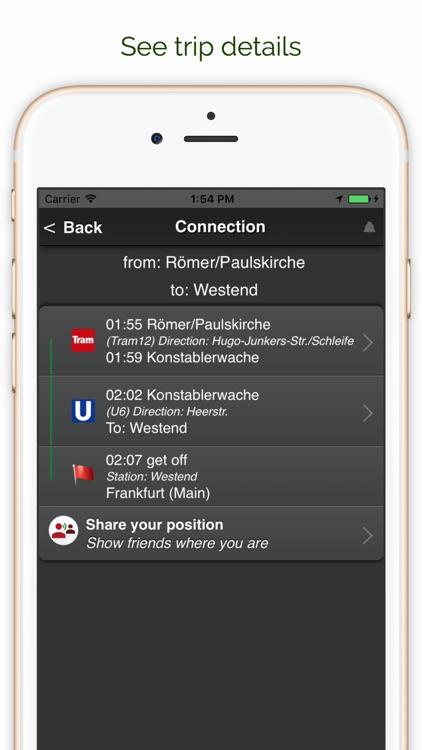 A+ trip planner Frankfurt Premium screenshot-3