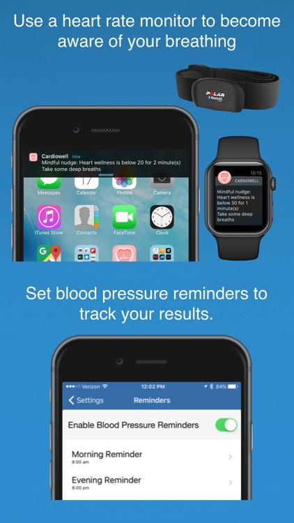 Cardiowell - hypertension control wellness tracker