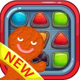 Gingerbread man on Crafty candy magic island