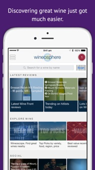 Wineosphere Wine Reviews for Australia & NZ iphone images