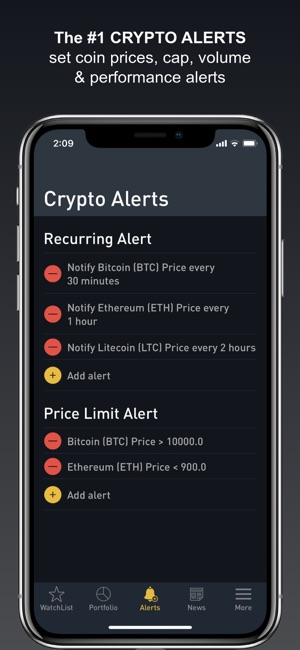 Crypto Tracker by BitScreener Screenshot