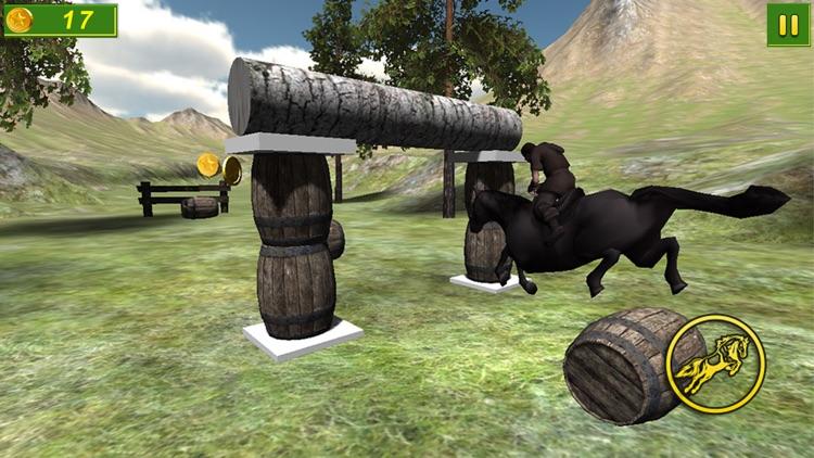 Forest Horse Jumping 3D Free screenshot-4