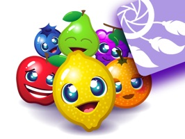 Join the sticker fun with the lovely fruits from the epic Fruity Blast game