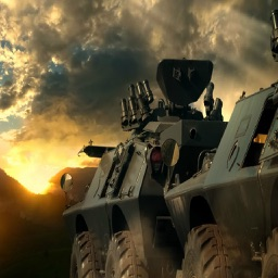 World of Tanks! Armoured Combat Vehicle Kids Game