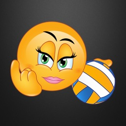 Volleyball Emoji Stickers