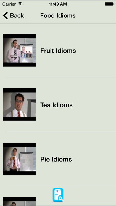 English Idioms Reference Learning Daily Idiom screenshot four