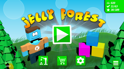 Screenshot from Jelly Forest
