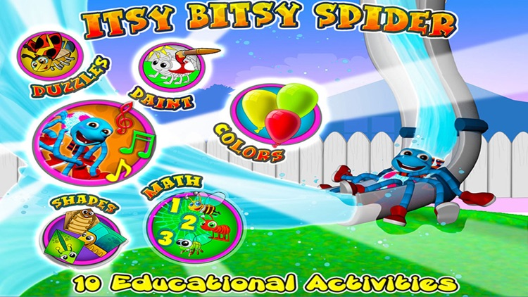 Itsy Bitsy Spider Song