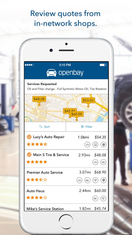 Openbay: Book Car Repair