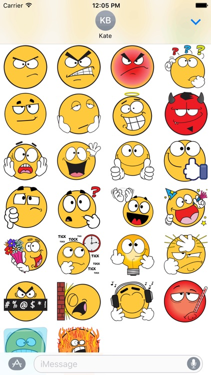 Ochat: Free Smiley & Emoji Stickers