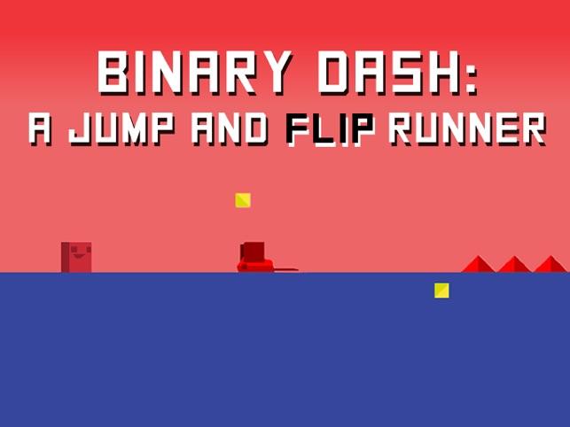 Binary Dash, game for IOS