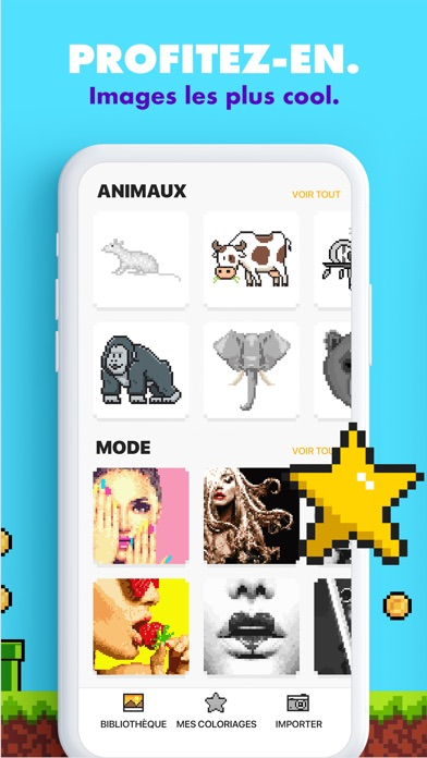 download Coloriage UNICORN : jeux pixel apps 1