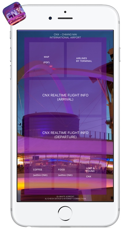 CNX AIRPORT - Realtime Guide - CHIANG MAI AIRPORT