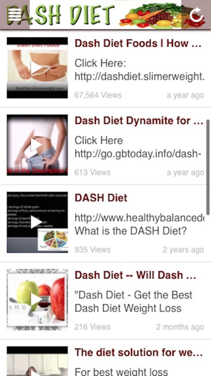 DASH Diet: Pain Free Lose Weight and Healthy Diet screenshot-3