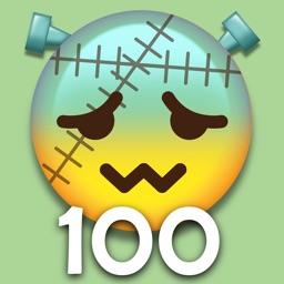 Halloween Emoji 100 - Celebration On Spooky Night