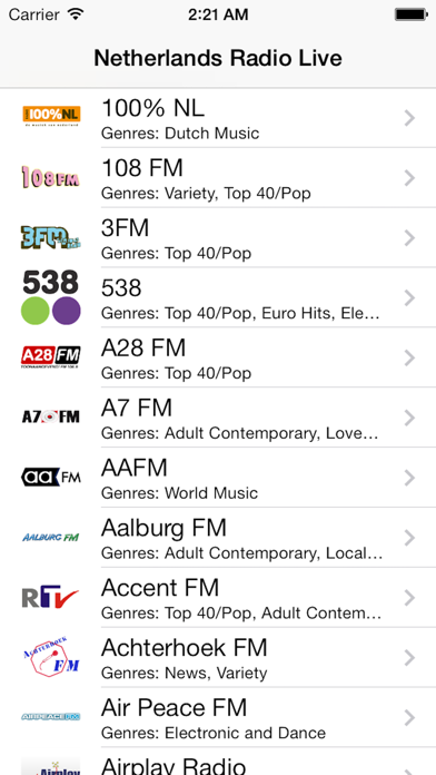 点击获取Netherlands Radio Live Player (Nederland / Dutch)