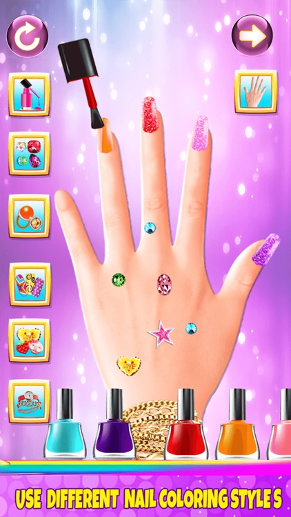 Fancy Nail Makeover Salon - Makeup & Dressup Girls Games by Mohsin waqar