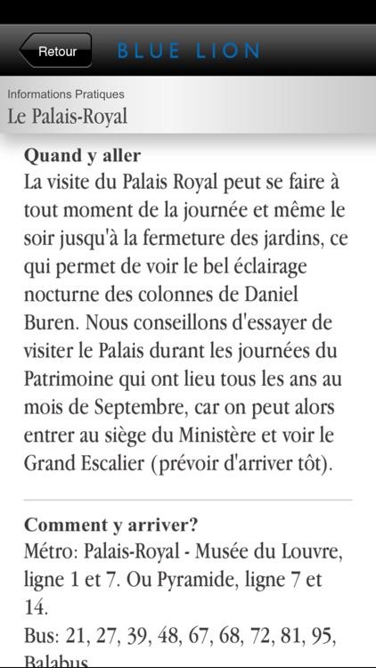Paris - Aperçu du Guide du Palais-Royal screenshot-4