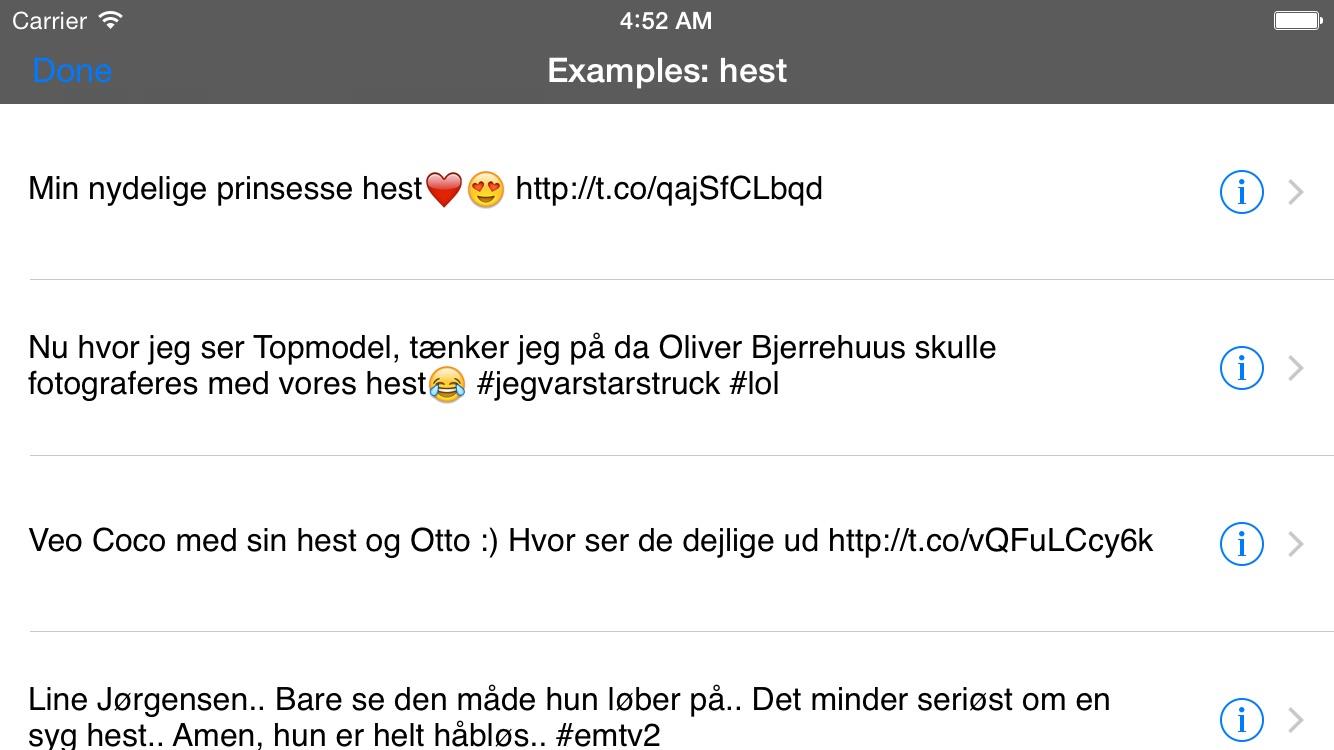 Danish Translator Screenshot