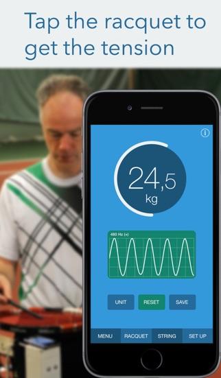 Screenshot for RacquetTune - Besaitungshärte in Germany App Store