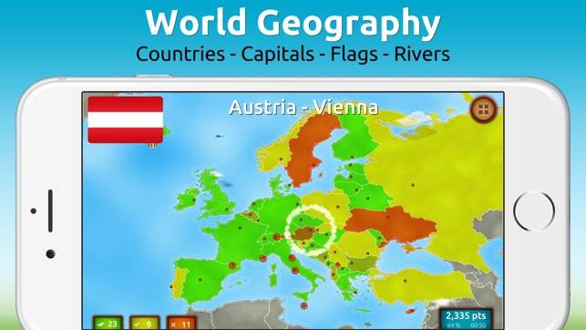 GeoExpert World On The App Store - World geography countries