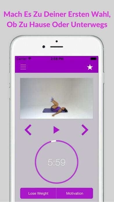 Bauchtraining Workout Fitness Bauch ÜbungenScreenshot von 4