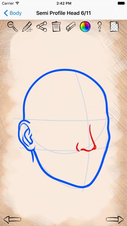Easy Draw Body Parts By Yuriy Rozgonyuk