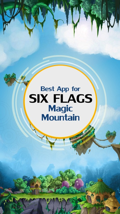 Best App for Six Flags Magic Mountain Guide