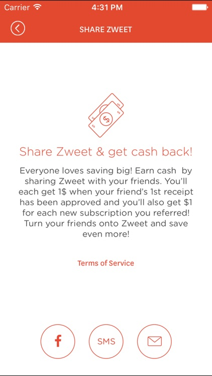 Zweet - Grocery Savings & Cash Back, Not Coupons screenshot-3