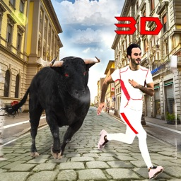 Ultimate Bull Attack 3D Simulator - Real Angry Bull Revenge in Wild City
