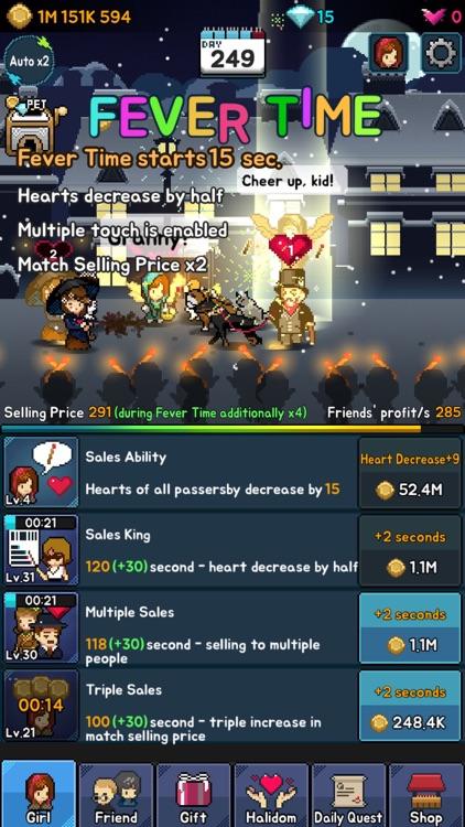 The Little Match Girl : Happy Clicker screenshot-4